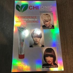 Chi ionic permanent shine hair color swatch book